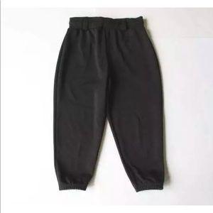 Easton YXL Girls Black Softball Pants